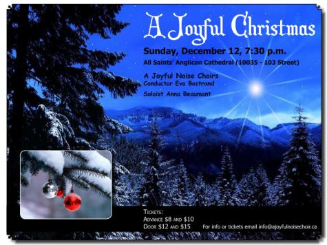 Joyful Christmas 2010 Poster
